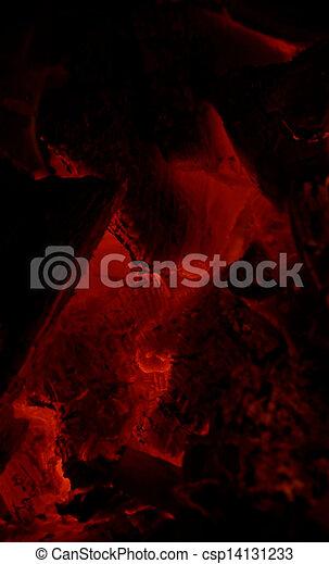 glowing embers - csp14131233