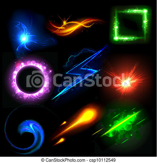 Glowing Light Effect - csp10112549