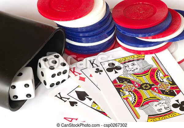 gluecksspiel, füllen - csp0267302