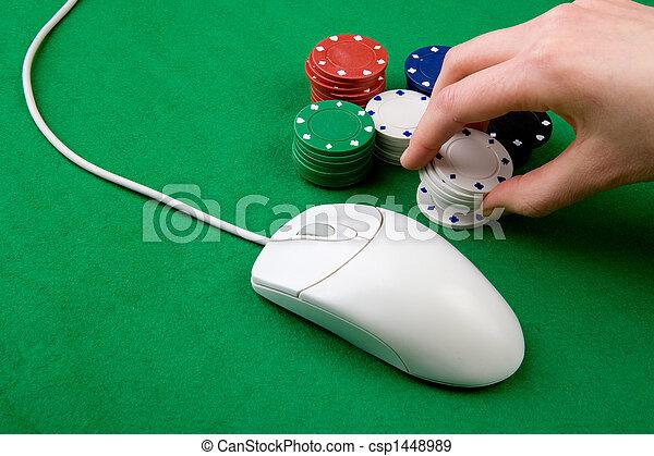 gluecksspiel, online - csp1448989