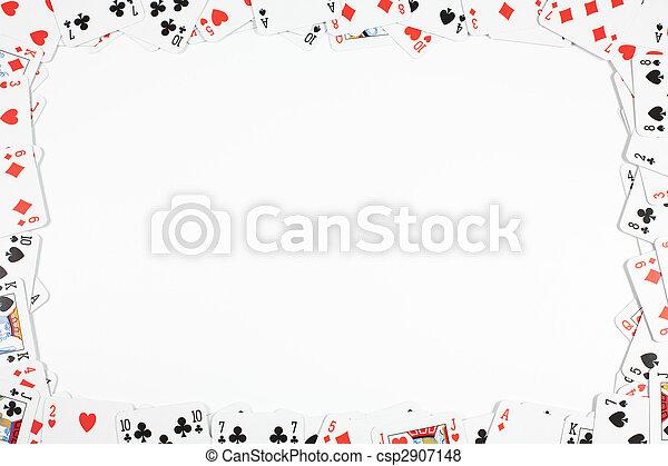 gluecksspiel, rahmen - csp2907148