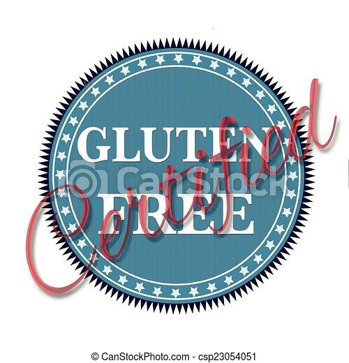 gluten free - csp23054051