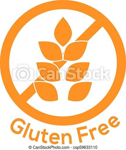 gluten free icon no wheat symbol