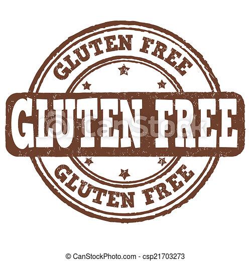Gluten free stamp - csp21703273