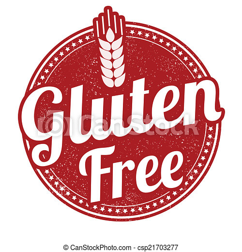 Gluten free stamp - csp21703277