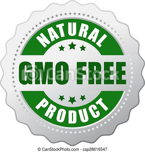gmo, produto, natural, livre - csp28616547