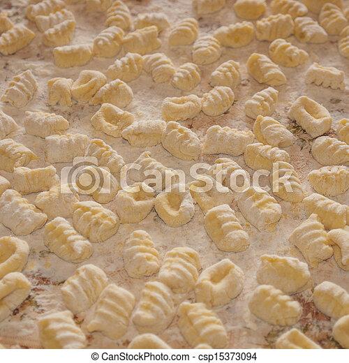 Gnocchi pasta - csp15373094