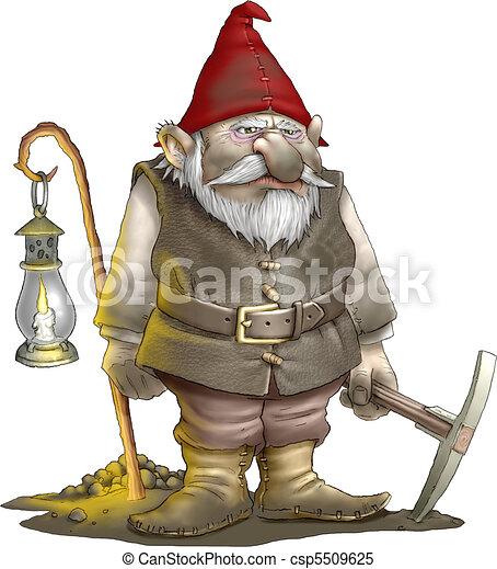 Gnome miner - csp5509625