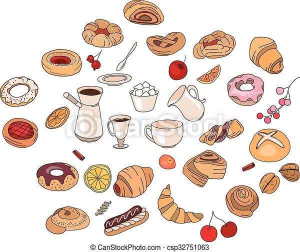 Go ter pastry diff rent ensemble color - Dessin gouter ...