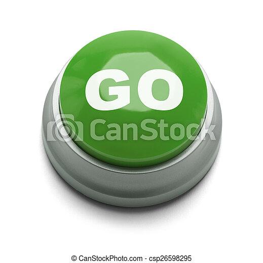 Go Button - csp26598295