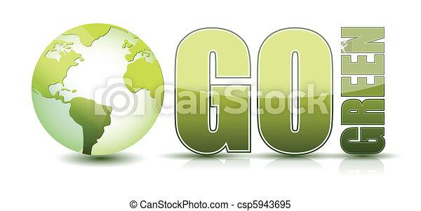 go green - csp5943695