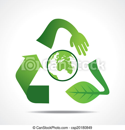 go green or save earth concept - csp20180849