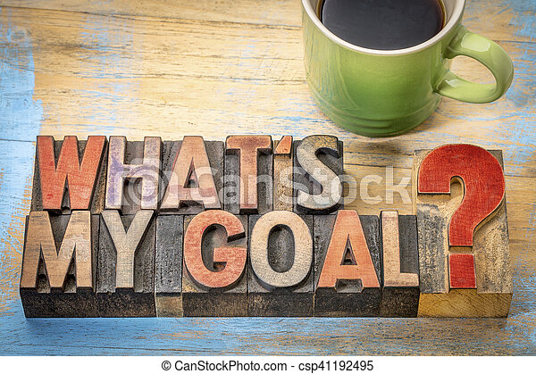 ¿Cuál es mi objetivo? - csp41192495