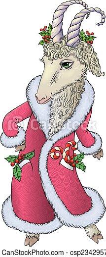 goat, marynarka, święty - csp23429579