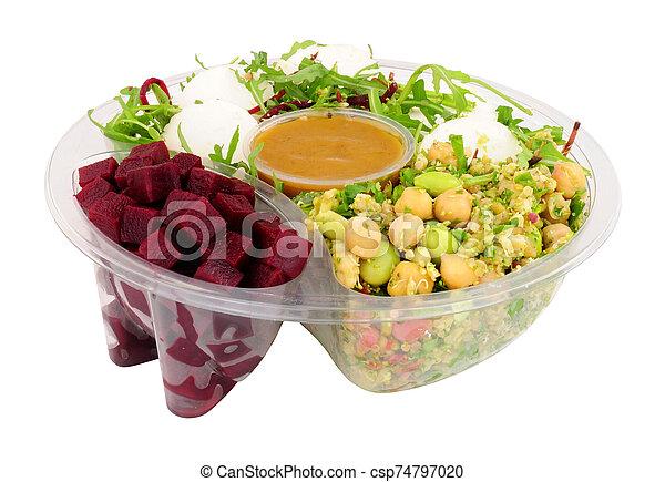 Goats Cheese And Beetroot Salad Bowl - csp74797020