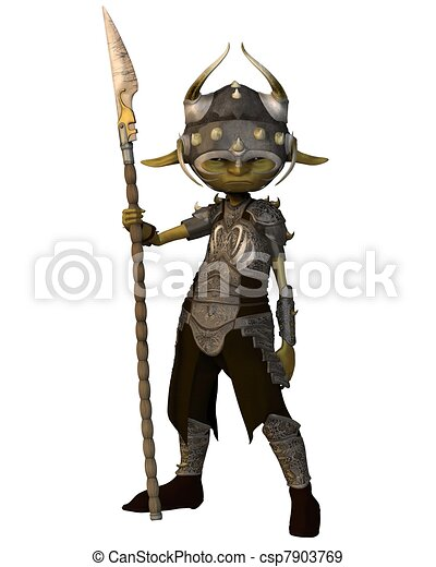 Goblin Soldier - csp7903769