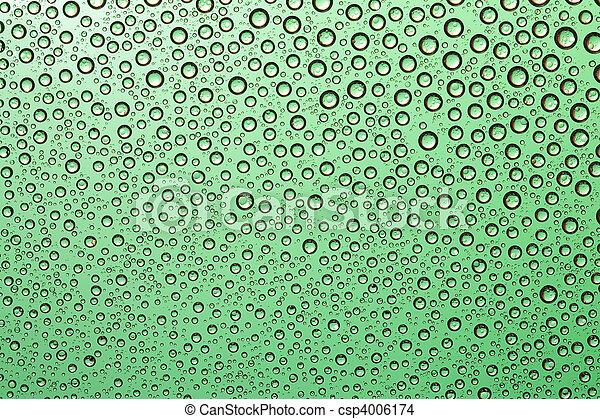 Gocce Acqua Sfondo Verde Acqua Fondo Gocce Verde Collection