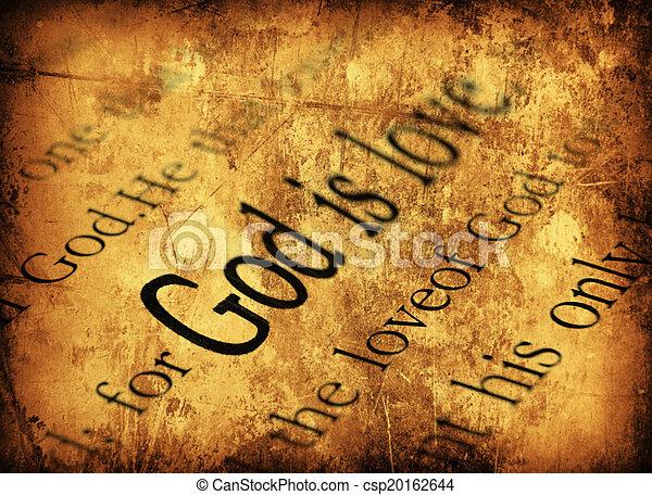 God is love. 1john 4:8, Holy Bible - csp20162644
