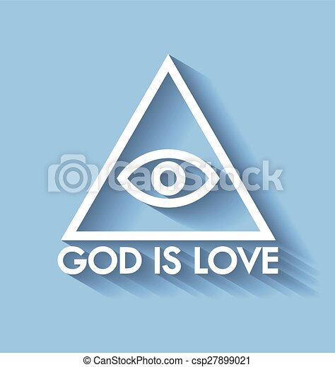 God is love - csp27899021