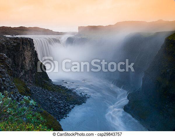 Godafoss waterfall - csp29843757