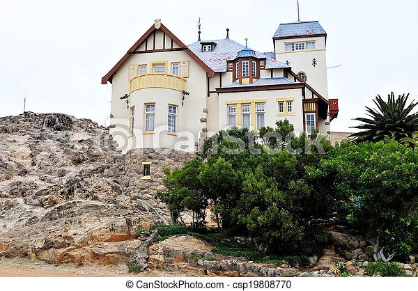 Goerke House in Luderitz, Namibia - csp19808770