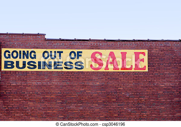 Going Out of Business - csp3046196