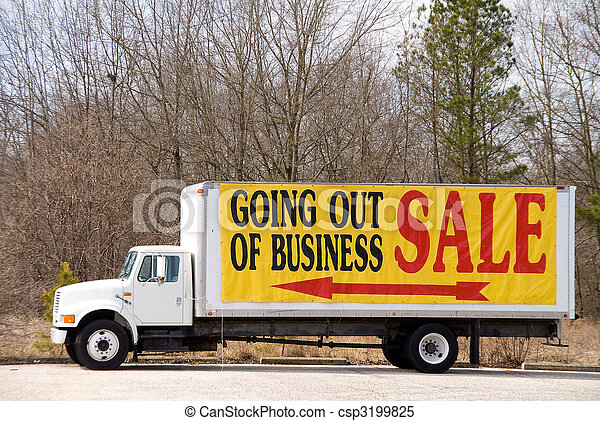 Going Out of Business - csp3199825