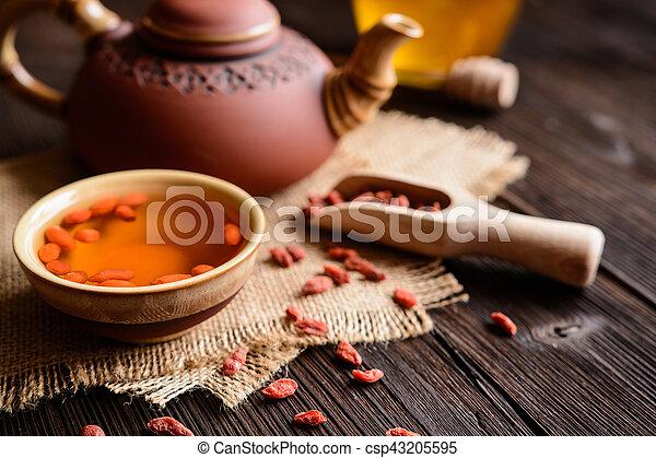 Goji Berry Tea A Cup Of Antioxidant Goji Berries Tea