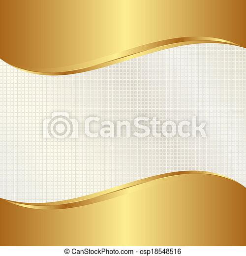 gold background - csp18548516