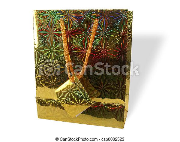 Gold Bag - csp0002523