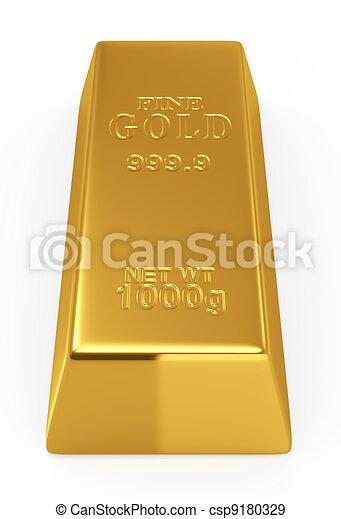 Gold bar - csp9180329