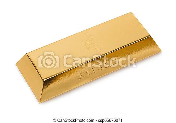 Gold bar - csp65676071