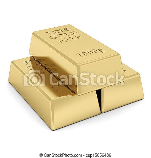 gold bar - csp15656486