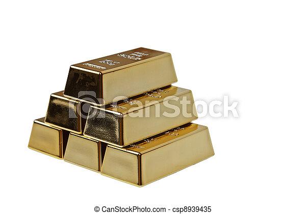 Gold bar - csp8939435