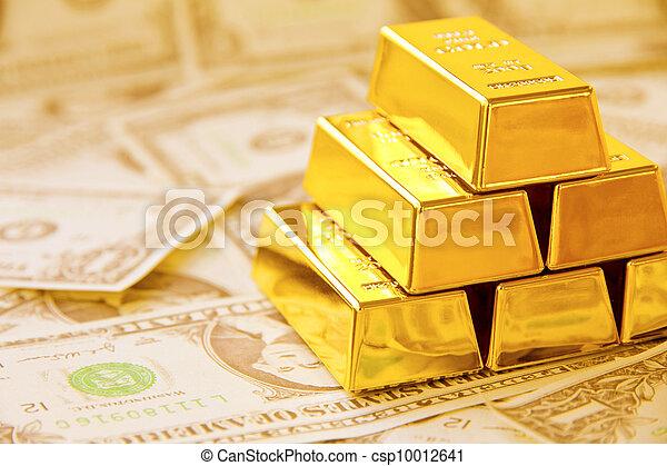 Gold Bar - csp10012641