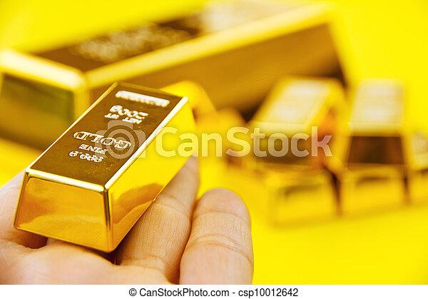 Gold Bar - csp10012642