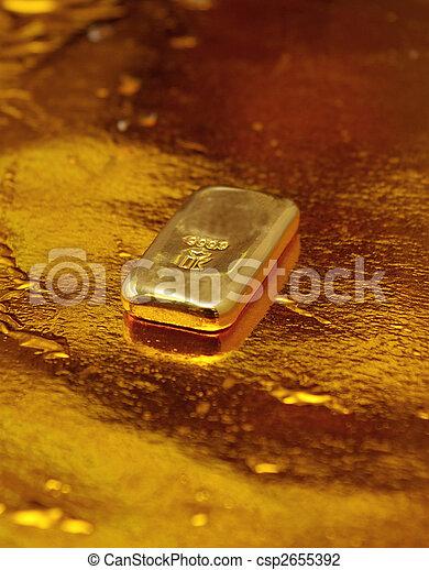Gold Bar - csp2655392