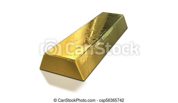 Gold bar - csp56365742
