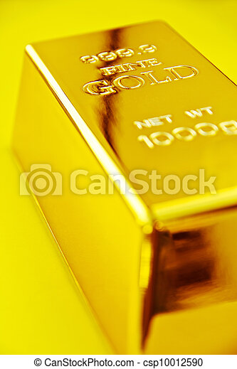 Gold bar - csp10012590