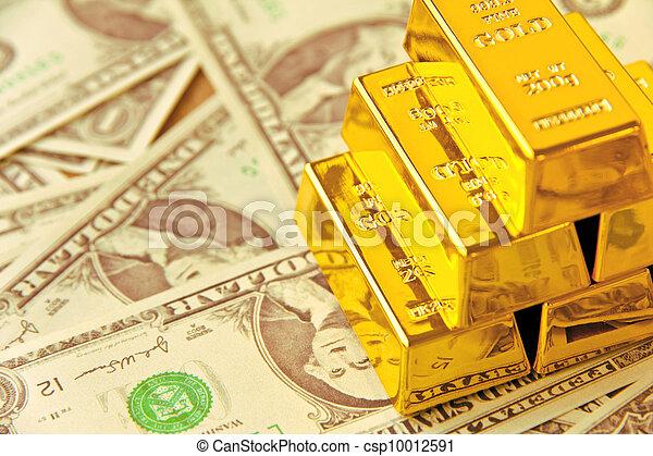 Gold Bar - csp10012591