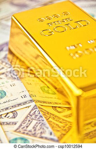 Gold Bar - csp10012594
