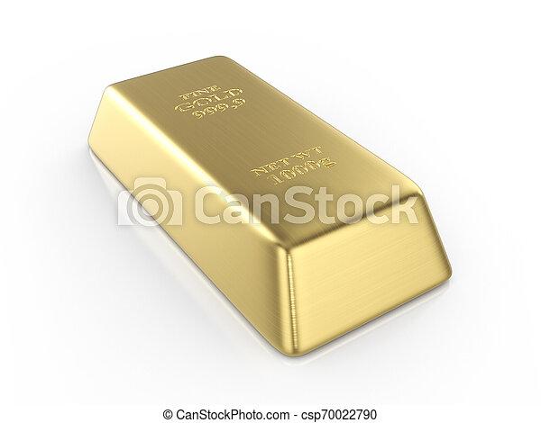 Gold bar - csp70022790