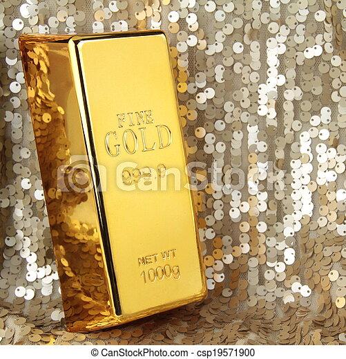 Gold bar - csp19571900
