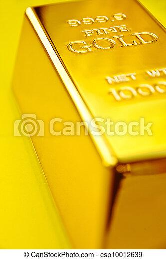 Gold bar - csp10012639
