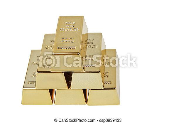 Gold bar - csp8939433