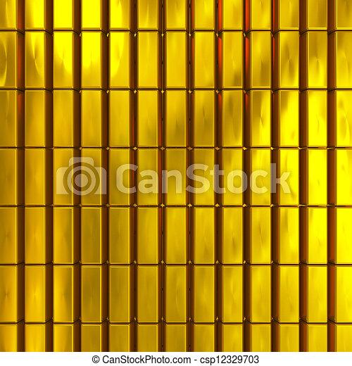 gold bars - csp12329703
