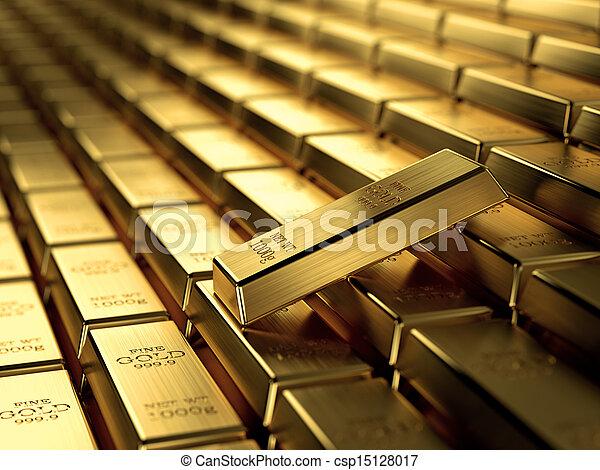 Gold bars - csp15128017