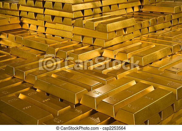 Gold bars - csp2253564