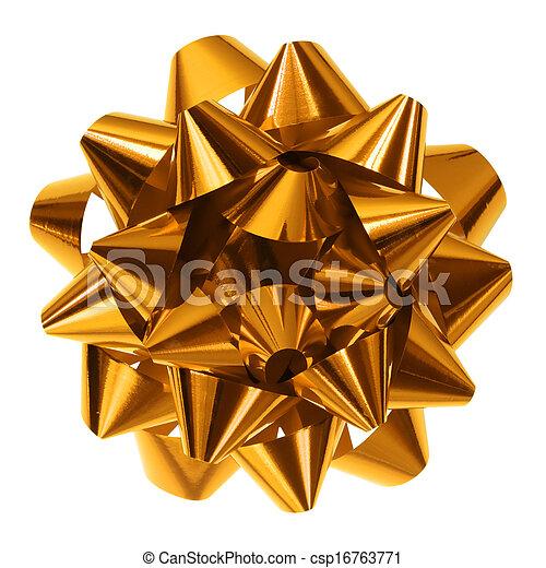 gold bow - csp16763771