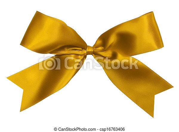 gold bow - csp16763406